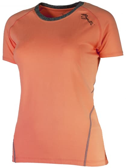 Dámske fitness tričko Rogelli ROSA, oranžové