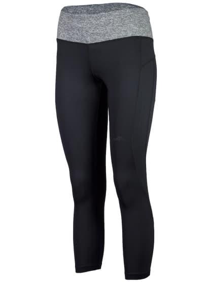 Dámske fitness nohavice 7/8 dĺžky Rogelli ROSIA, čierne