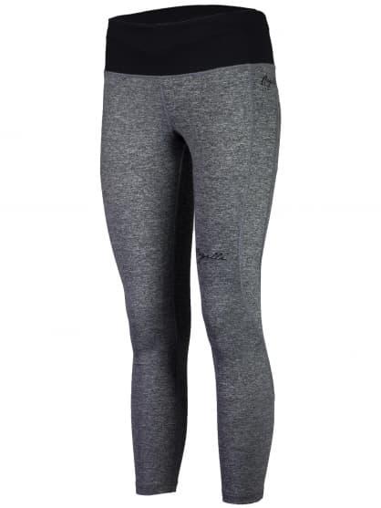 Dámske fitness nohavice 7/8 dĺžky Rogelli ROSIA, šedé