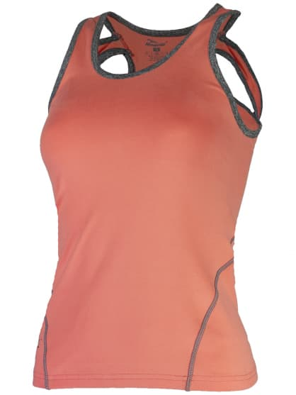 Dámske fitness tielko Rogelli ROMILDA, oranžové