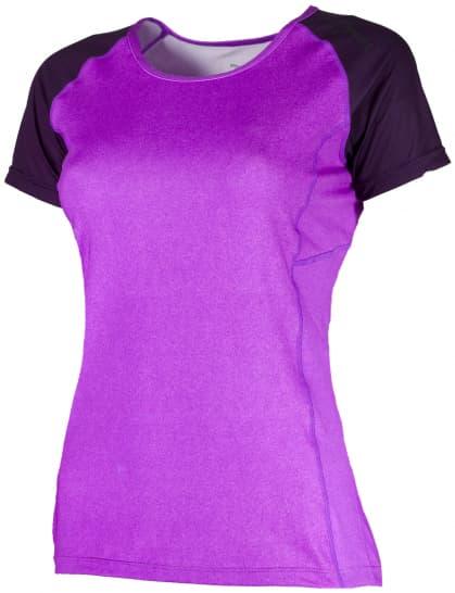Dámske funkčné tričko Rogelli SAMUELA, fialové