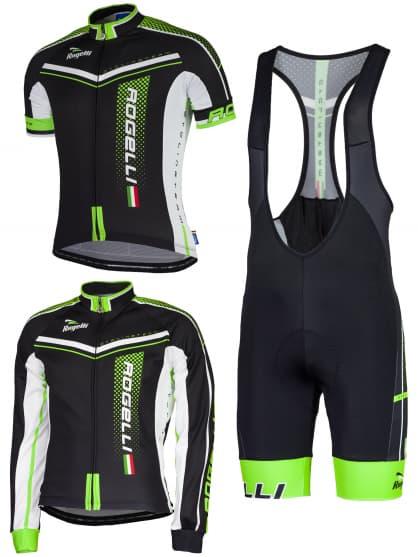 Letné cyklistické oblečenie Rogelli GARA MOSTRO, zelené