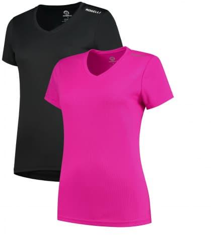 Dámske funkčné tričká Rogelli PROMOTION MIX LADY - 2 ks rôzne veľkosti