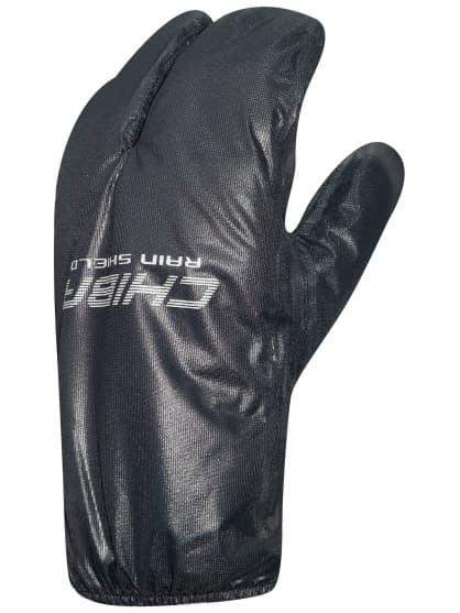 Tenké nepremokavé návleky na rukavice Chiba RAIN SHIELD SUPERLIGHT, čierne
