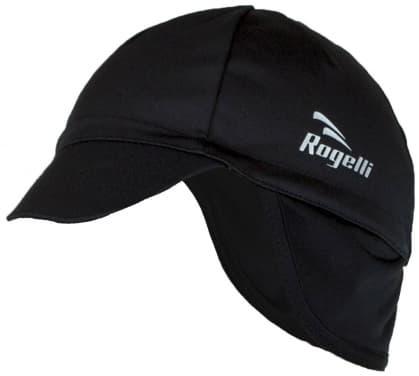 Softshellová čiapka pod prilbu Rogelli PROTTETIVO, čierna