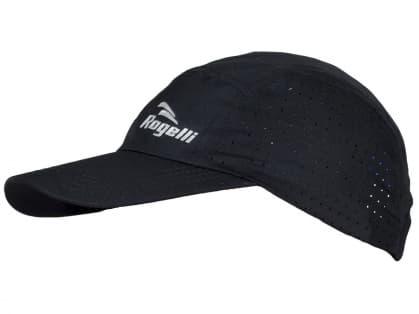 Ultraľahká a priedušná športová šiltovka Rogelli LIBERTY 2.0, čierna