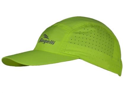 Ultraľahká a priedušná športová šiltovka Rogelli LIBERTY 2.0, reflexná žltá