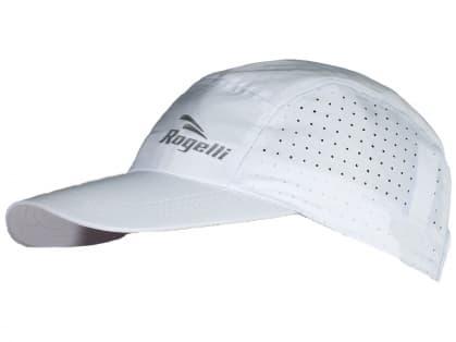 Priedušná športová šiltovka Rogelli LIBERTY 2.0, biela