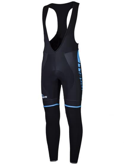 Cyklistické nohavice Rogelli UMBRIA 2.0 s gélovou cyklovýstelkou, čierno-modré
