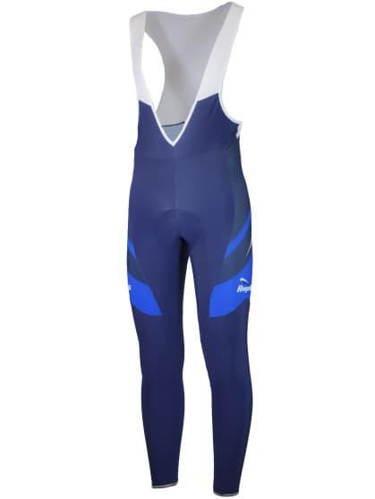 Cyklistické nohavice Rogelli ANDRANO 2.0 s gélovou cyklovýstelkou, modré
