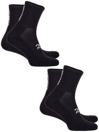 Funkčné ponožky Rogelli COOLMAX EVERYDAY - 2 páry, čierne