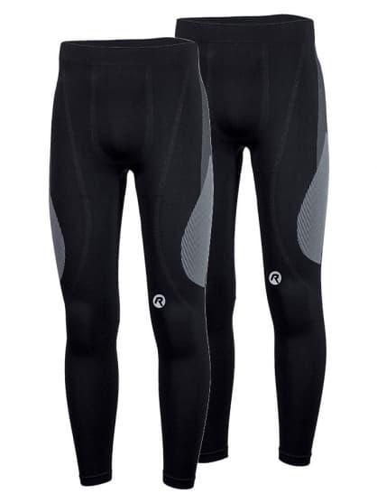 Funkčné termo nohavice Rogelli CORE - 2 kusy v balení, čierne