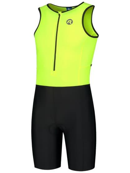 Kombinéza na triatlon Rogelli FLORIDA, reflexná žltá