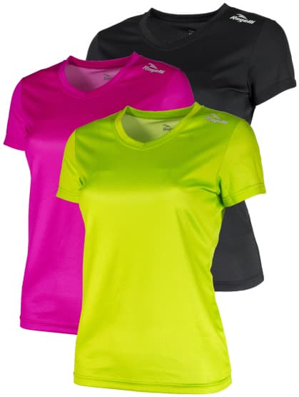 Dámske funkčné tričká Rogelli PROMOTION MIX LADY - 3 ks rôzne veľkosti