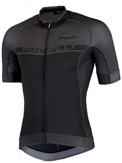 Extra priedušný cyklistický dres Rogelli COMBATTIVO s krátkym rukávom, čierny