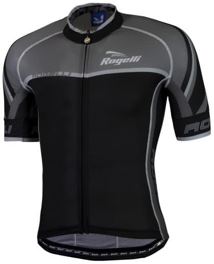 Ultraľahký cyklodres Rogelli ANDRANO 2.0 s krátkym rukávom, čierny