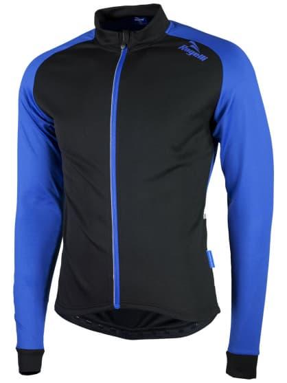 Jemne zateplený cyklodres Rogelli CALUSO 2.0 s dlhým rukávom, modrý