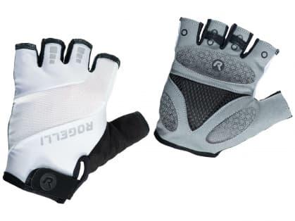 Cyklistické rukavice Rogelli PHOENIX, biele
