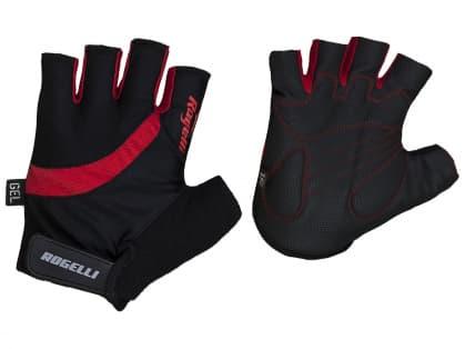 Cyklistické rukavice Rogelli STRADA, červené