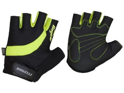 Cyklistické rukavice Rogelli STRADA, reflexné žlté
