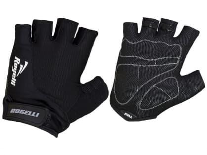 Cyklistické rukavice Rogelli STRADA, čierne