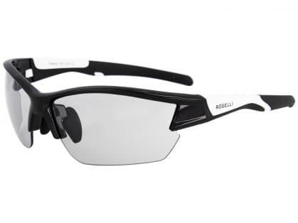 Fotochromatické športové okuliare Rogelli SHADOW, čierno-biele