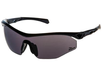 Cyklistické športové okuliare Rogelli SPIRIT s výmennými sklami, čierne