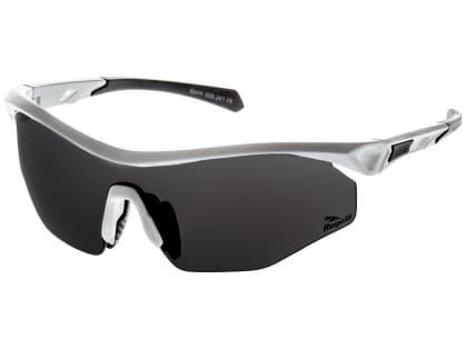 Cyklistické športové okuliare Rogelli SPIRIT s výmennými sklami, biele