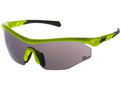 Cyklistické športové okuliare Rogelli SPIRIT s výmennými sklami, reflexné žlté