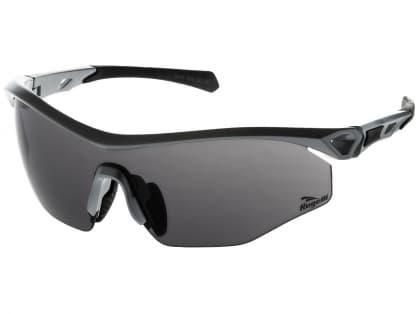 Cyklistické športové okuliare Rogelli SPIRIT s výmennými sklami, šedé