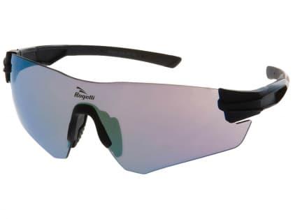Športové okuliare Rogelli WRIGHT s výmennými sklami, čierne