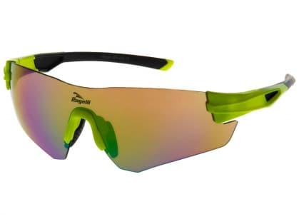 Športové okuliare Rogelli WRIGHT s výmennými sklami, reflexné žlté