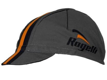 Športová šiltovka Rogelli RETRO, šedo-oranžová