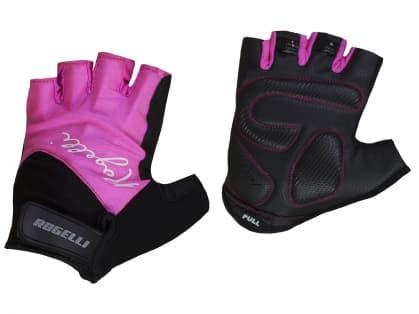 Dámske rukavice na bicykel Rogelli DOLCE, ružové