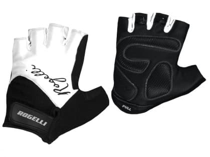 Dámske rukavice na bicykel Rogelli DOLCE, biele